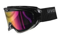 Uvex Comanche TOP Black Skibrille Snowboardbrille Brille Scheibe Ski pink J18
