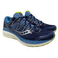 Saucony Womens Hurricane ISO5 Blue Running Shoes Lace Up Size 10 S10460-1