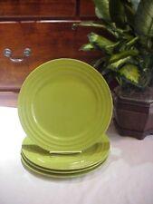 Set of 4 Rachael Ray Double Ridge GREEN APPLE Dinner Plates Dinnerware & Rachael Ray Stoneware Dinnerware u0026 Serving Dishes | eBay