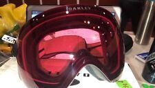 Oakley Flight Deck Ski Goggles, Matte Black/Prizm Rose