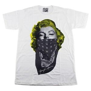 Marilyn Monroe Gangster Crew Skate Hip Hop Street Style ARAINA #AR74 Men T-Shirt