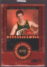 ROBERT SWIFT 2003-04 UD LEGENDS XRC ROOKIE CARD MINT RC SP SONICS $12
