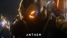 Game anthem gameplay Silk Poster/Wallpaper 24 X 13 inches