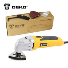 DEKO 220V AC Variable Speed Electric Multi-function Oscillating Tool Multi-Tool