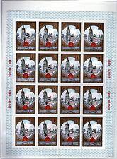 RUSSIE - RUSSIA Yvert n° 4688/4693 neuf sans charnière MNH en feuille de 16