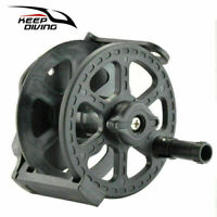 Spear Fishing Reel Speargun Reel 70cm Black For Underwater Hunting Pneumatic Gun