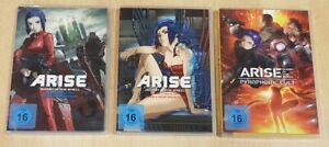 Ghost in the Shell Arise Border 1-4 + Pyrophoric Cult  (DVD) deutsch