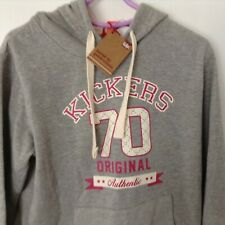 Brand New with Tags Kickers Original '70' Hoodie Grey Size 12