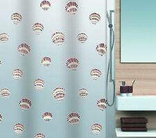 Spirella Shell Brown Braun Shower Curtain 70 7/8x78 11/16in 100% Peva Brand