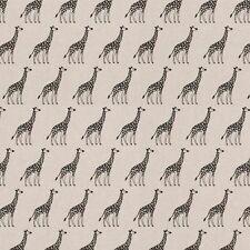 Giraffe'S LINO Tessuto Remnant In Policotone 50cm x 40cm