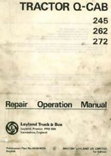 LEYLAND TRACTOR 245 262 272 Q-CAB WORKSHOP SERVICE MANUAL