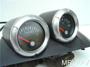 genuine ford FPV BA BF GT GTP FPV XR6 XR8  F6 gauge pod oil temp & oil pressure