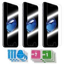 3x iPhone 7 Panzerglas 9H Echtglas Panzerglasfolie Panzerfolie Glas Schutzfolie