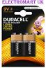 2 X DURACELL PLUS POWER 9V PP3 MN1604 BATTERY BATTERIES SMOKE ALARM