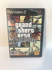 Grand Theft Auto GTA San Andreas Playstation 2 PS2