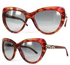 BVLGARI Damen Sonnenbrille BV8143-B 5341/11 55mm  braun transparent 57  32