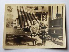 Vintage Antique photo photograph snapshot 1931 Boy Scout in Uniform