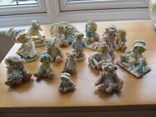 More details for job lot of 15 cherished teddies ornaments