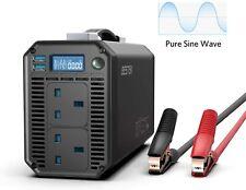 BESTEK Pure Sine Wave 1000W Car Power Inverter DC 12V to AC 230V 240V 2 USB