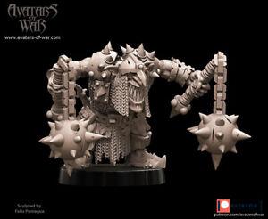 Avatars Of War 3D Printed miniature Big boss gobelin 2