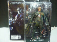 Terminator 2 T-800 Schwarzenegger Battle-Damaged Crazy Toys Figure Statue Model