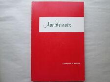 ANNULMENTS by Lawrence G. Wrenn 1978 pb CANON LAW SOCIETY OF AMERICA Catholic