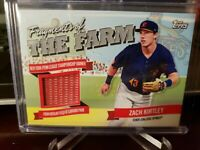 ZACH KIRTLEY 2018 TOPPS PRO DEBUT FRAGMENTS OF THE FARM BANNER RELIC