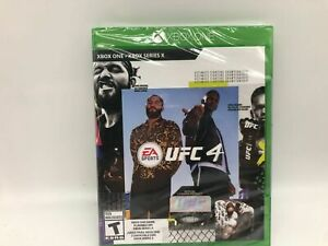 Xbox One -  UFC 4 EA Sports Brand New Free Shipping