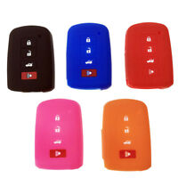1x Silicone Key Case Fob Cover Shell Remote For Toyota Camry RAV4 Corolla Tacoma