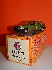 VOITURE / Car - NOREV - HACHETTE - TALBOT HORIZON 1980