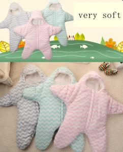 Baby Cute Soft Warm Cotton Starfish Sleeping Sack Stroller Sleeping Bag Swaddle