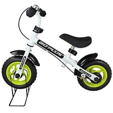 """Kids Toddler Adjustable Seat 10"""" No-Pedal Balance Bike Stand Cycling with W"""