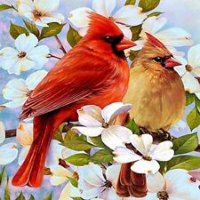 DIY 5D Diamond Painting Full drill Embroidery Kits  Cardinals