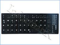 Black German Stickers Keyboard Aufkleberetiketten Deutsche Schwarz fur Tastatur