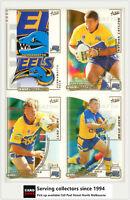 2002 Select NRL Challenge Series Base Card Team Set PARRAMATTA EELS(12)