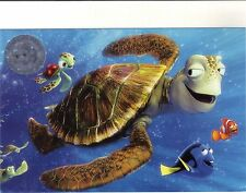 Finding Nemo Commemorative Lithograph Regal Crown Club Postcard 2012 Promo Code