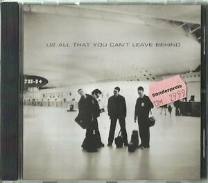 = A -1 CD U2 / All that you can´t leave behind