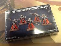 40K Warhammer Adeptus Mechanicus Electro-Priests Box NIB Sealed