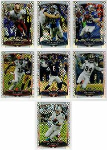 2014 Topps Chrome Football Xfractor Parallel You Pick the Card Finish Your Set