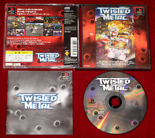 *RARE Japanese Version* PS1 Game TWISTED METAL NTSC-J Japan Import PlayStation