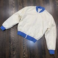 Vtg 60s 70s JOCKEY Bomber Jacket Rockabilly Mid Century coat Japan Mens MEDIUM