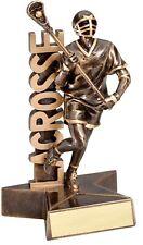 """6.5"""" Lacrosse Male Trophy Personalized Free"""