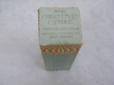 Vintage Collectible Avon Christmas Candle New In Box