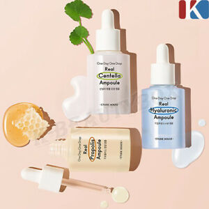 ETUDE HOUSE One Day One Drop Real Ampoule 30ml Hyaluronic, Propolis, Centella