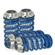 Civic Integra Coilover Adjustable Lowering Spring Scale Silver Sleeve Dual lock