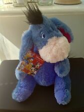 Disney Store Exclusive Plush Eeyore With Detachable Velcro Tail - Tag!!