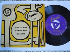 "MILT JACKSON MODERN JAZZ QUARTET rare UK ESQUIRE 7""  EP ´45"