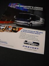 PREVOST XLII Entertainer BUS - COACH 2008 Promo Display Ad