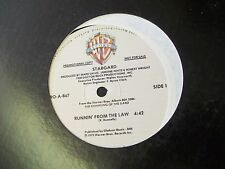 "Stargard-Runnin' From The Law-Promo-12"" Single-VG+"