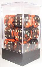 Paquete De 12 Oblivion Dados Rojos - 6 Lados & 15mm Lados!!